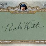 Babe Ruth Cut Auto