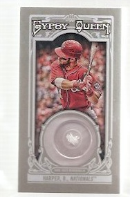 Bryce Harper Button Card