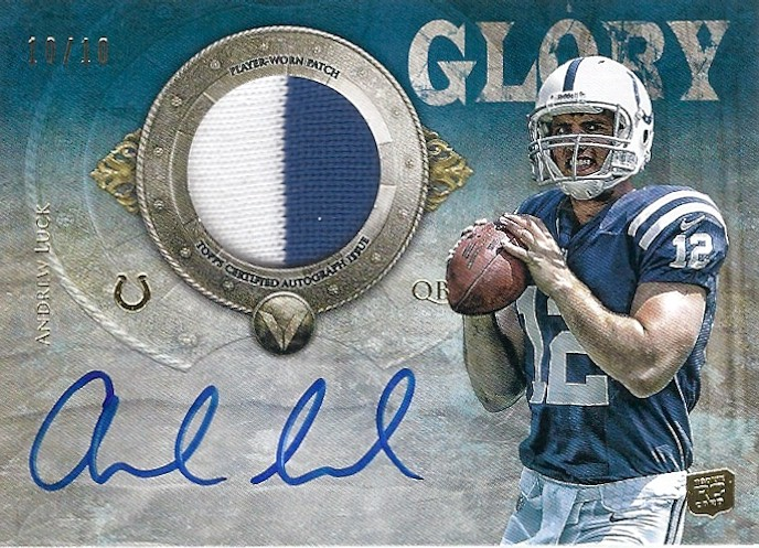 Andrew Luck Valor Auto