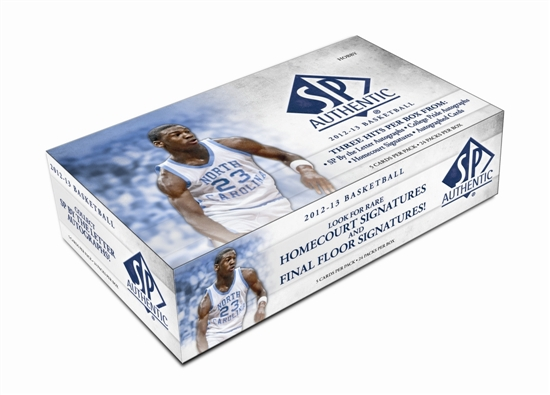 2012/13 SP Authentic Basketball Box