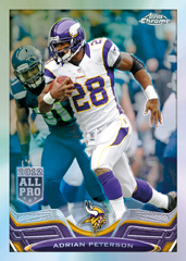 2013 Topps Chrome Adrian Peterson