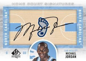 Michael Jordan On Court Autograph