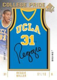 Reggie Miller Autographed SP Authentic Basketball Card