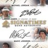 SP Authentic Basketball Quad Autograph