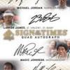 SP Authentic Basketball Quad Autograph