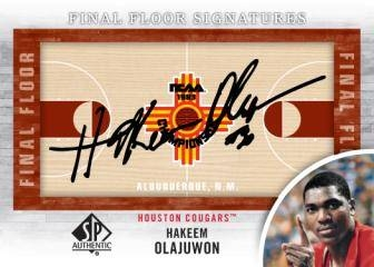 2012/13 SP Authentic Olajuwon Auto