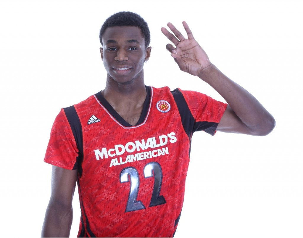 Andrew Wiggins McDonalds All American