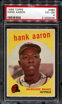 Hank Aaron Baseball Card