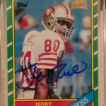 #DACWPulls: Jerry Rice 2013 Topps Archives Originals Auto 1/5