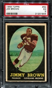 Jim Brown Football Card