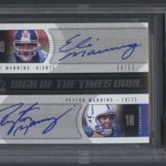 Eli Manning Football Card Collection Purchased