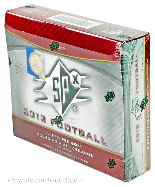 2013 Upper Deck SPx Football Box