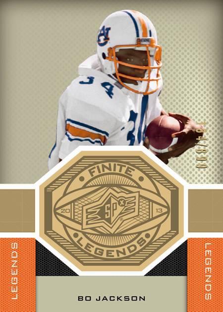 Bo Jackson SPx Card