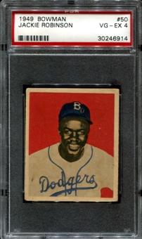 Jackie Robinson 1948 Bowman