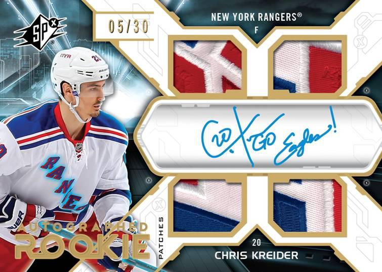 Kreider Rookie Patch