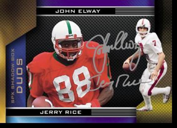 Jerry Rice John Elway SPx