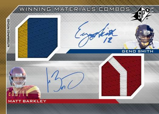 Geno Smith Matt Barkley SPx