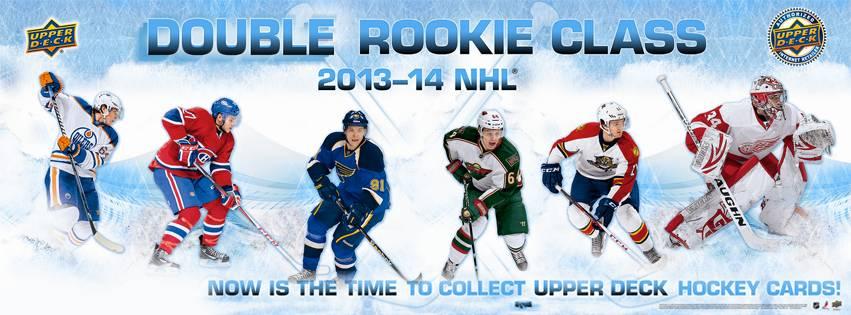 Upper Deck Double Rookie Class Banner