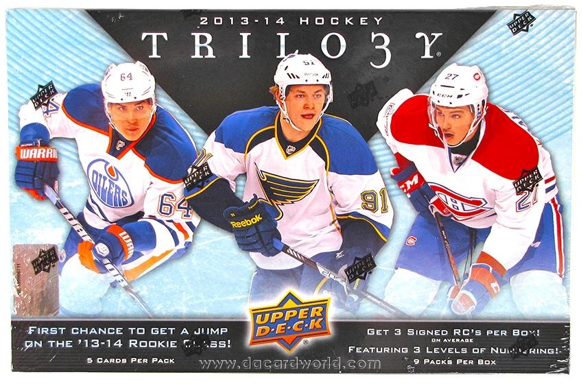 2013/14 UD Trilogy Hockey