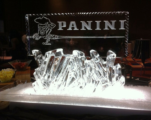 Panini Ice Sculpture