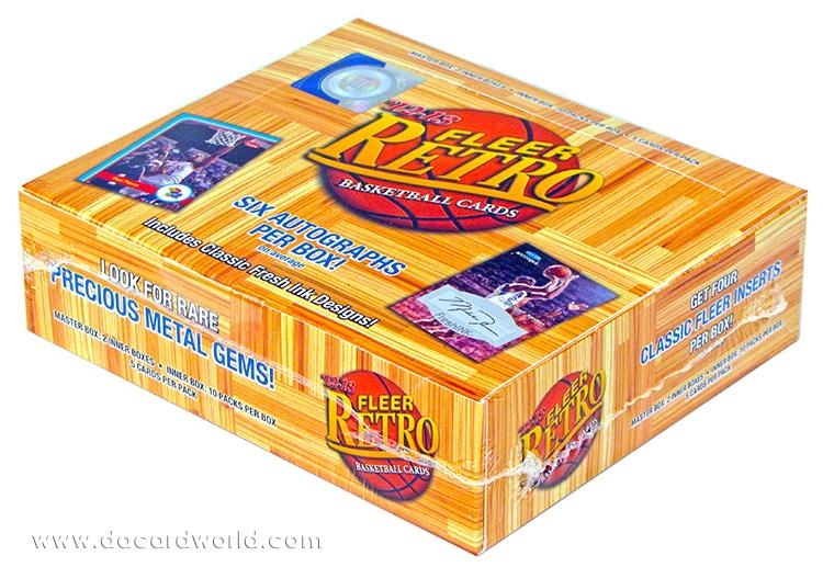 Fleer Retro Basketball Box