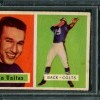 1957 Topps Johnny Unitas Rookie Card PSA 3