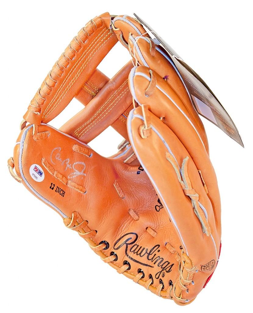 Cal Ripken Jr. Autographed Baseball Glove