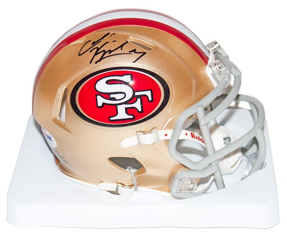Colin Kaepernick Autographed Mini-Helmet