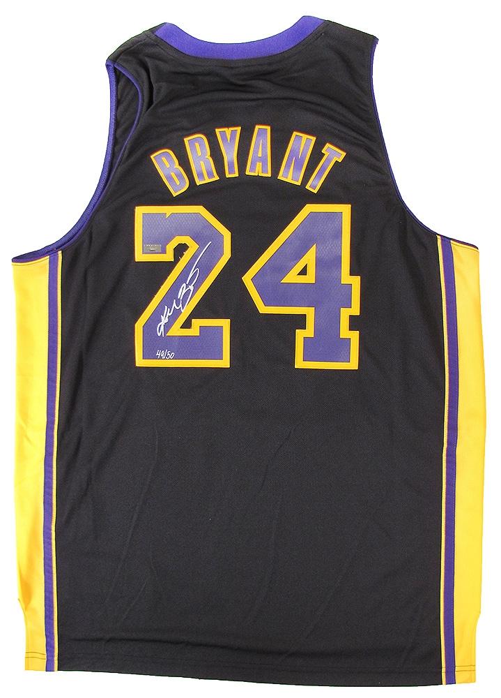 Kobe Bryant Autographed Jersey