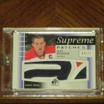 #DACWPulls: Alexander Ovechkin 2013/14 Upper Deck SP Game Used Supreme Patch #4/12.