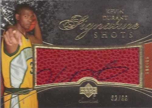 2007-08-UPPER-DECK-SWEET-SHOT--Kevin-Durant