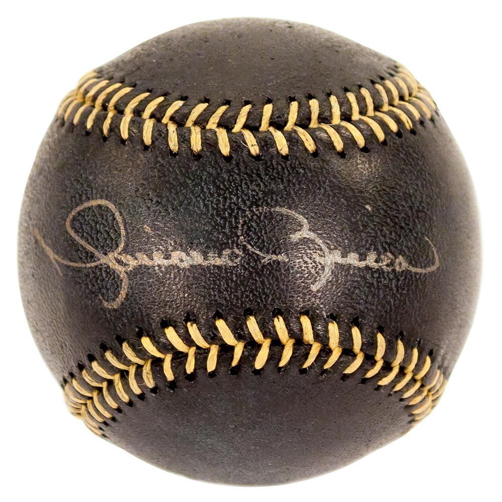 Mariano Rivera Autographed Black Baseball