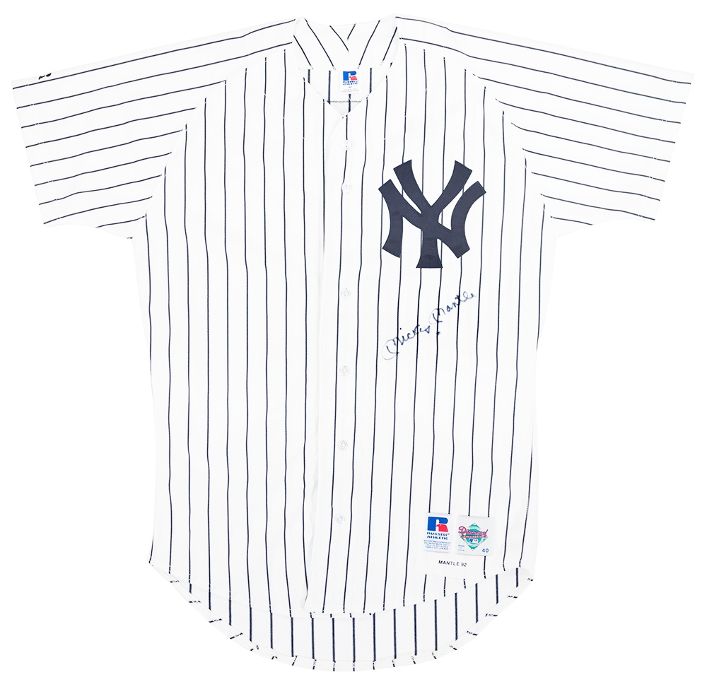 Mickey Mantle Autographed Jersey
