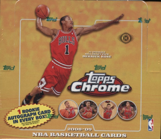 2008/09 Topps Chrome Basketball