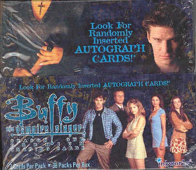 Buffy The Vampires Slayer Season 1 Trading Cards