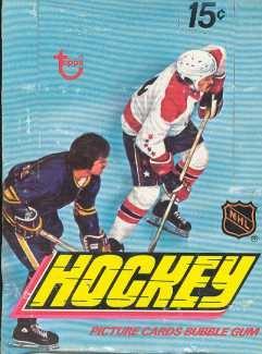 1977/78 Topps Hockey