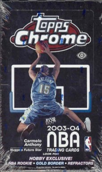 2003/04 Topps Chrome Basketball