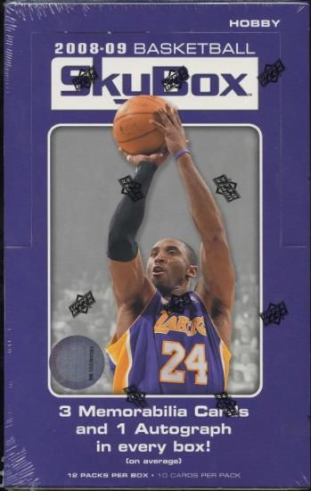 2008/09 Upper Deck Skybox Basketball