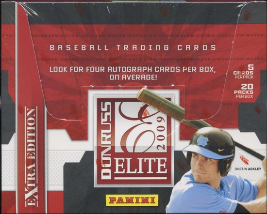 2009 Donruss Elite Extra Edition Baseball