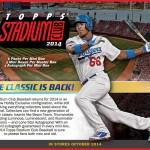 2014 Topps Stadium Club Baseball preview