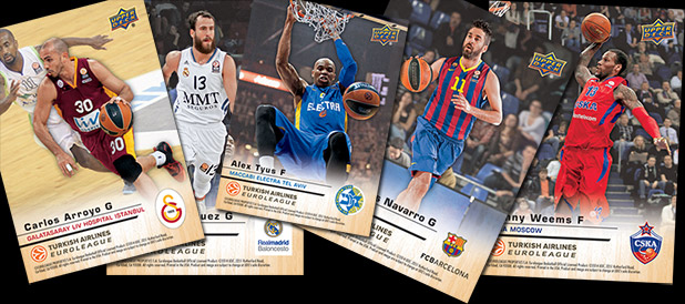 Euroleague Basketball Tarading Cards