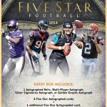 2014 Topps Five Star Football preview