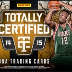 2014-15 Panini Totally Certified Basketball brings new features to the hardwood