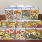 Hollywood Comic Haul Yields 70 Graded Books