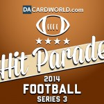 DA Cardworld launches 2014 Hit Parade Series 3 Football
