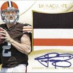 2014 Panini Immaculate Football preview