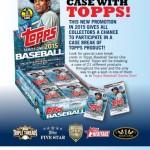 Topps announces Case Break Slot Redemption Program for 2015 Series 1 Baseball