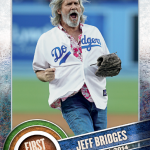 Topps shows off First Pitch cards from 2015 Series 1 Baseball