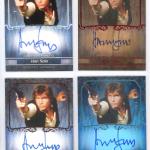 Harrison Ford & Mark Hamill sign for Topps Star Wars Masterwork