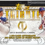 Dave & Adam's to continue selling 2015 Topps Tribute Baseball